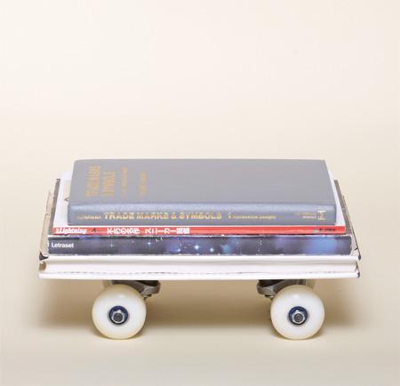 Stack of Books Skateboard