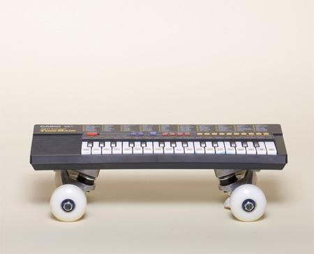 Musical Skateboard