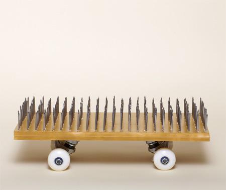 Nail Skateboard