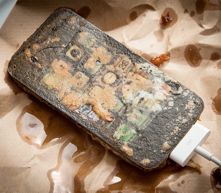 Deep Fried iPhone