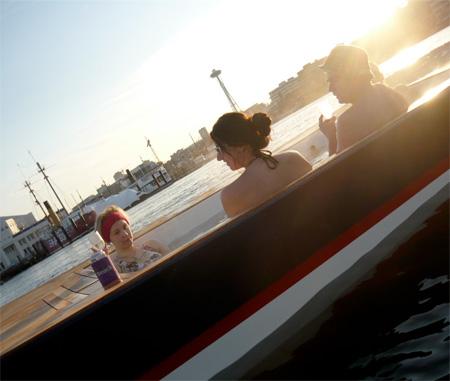 Boat Hot Tub