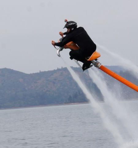 Water Powered Jet Bike