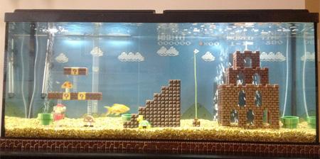 Super Mario Aquarium
