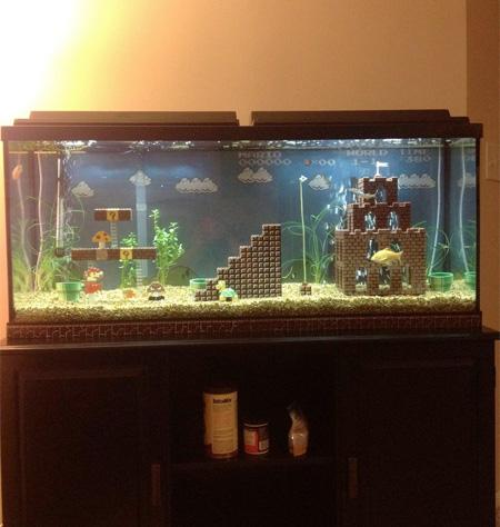 Mario Fish Tank