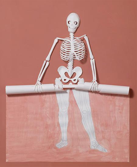 Paper Sceleton