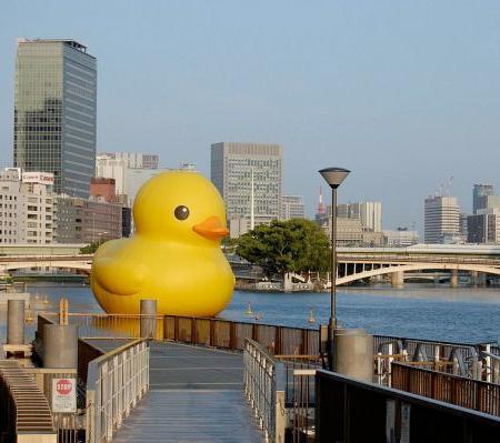Rubber Duck by Florentijn Hofman