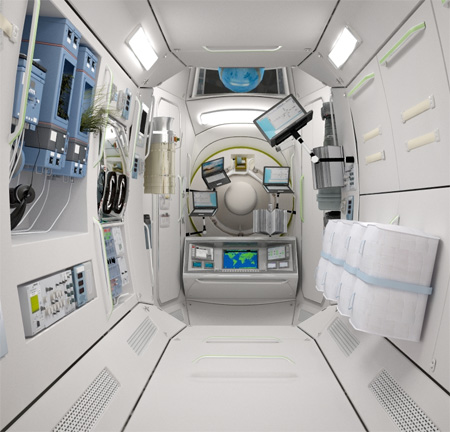 Hotel in Space by Orbital Technologies