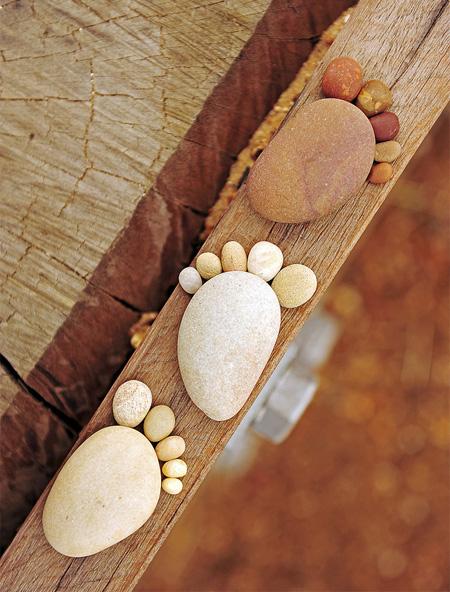 Stones Footprints
