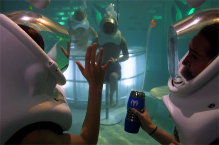 TechnoMarine Underwater Bar
