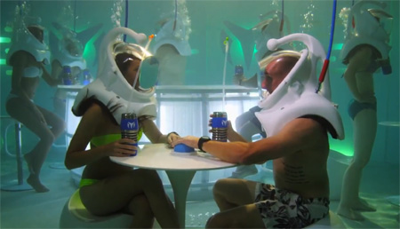 Underwater Bar in New York