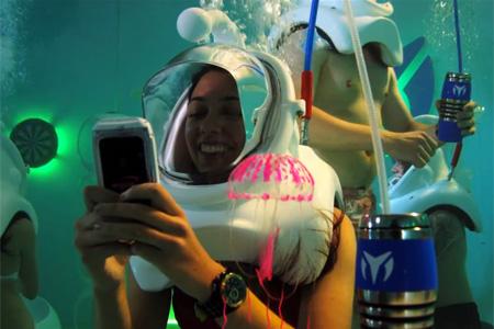 Underwater Night Club in New York
