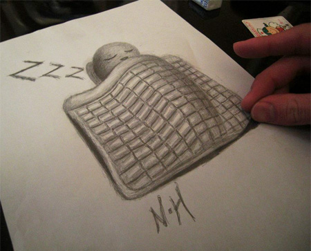 Unique and creative pencil drawings by Japanese artist Nagai Hideyuki ...