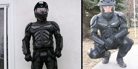 Dark Knight Motorcycle Suit