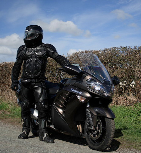 The Dark Knight Batman Motorcycle Suit