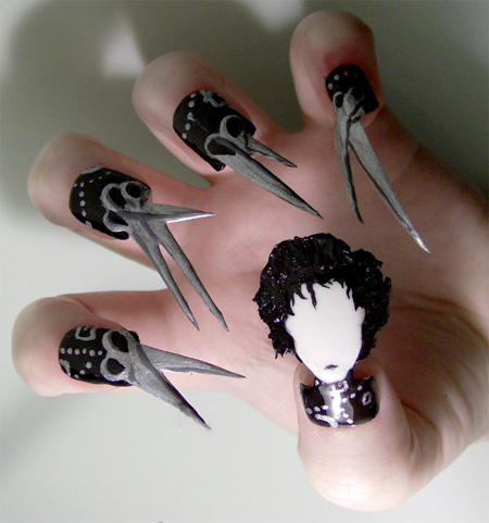 Edward Scissorhands Nails