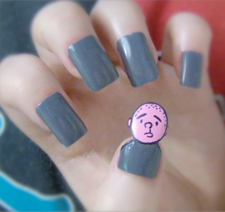 Karl Pilkington Nails