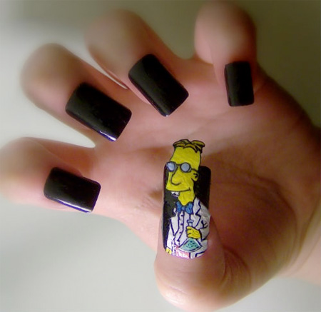 Professor Frink Nails