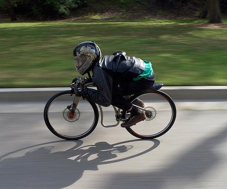 Gravity Bike by Jeff Tiedeken
