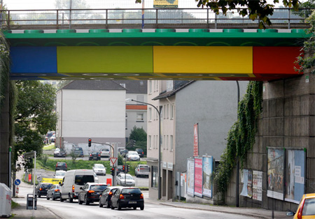 LEGO Bridge in Germany