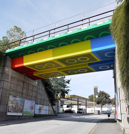 LEGO Bridge in Wuppertal