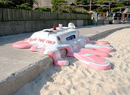 Melting Ice Cream Van