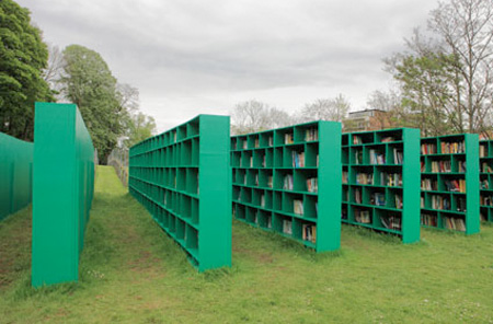 Outdoor Library by Massimo Bartolini