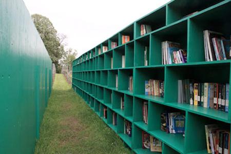 Bookyard by Massimo Bartolini