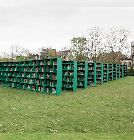 Cemetery Library