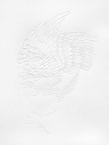 Paper Tattoo by Jacob Dahlstrup