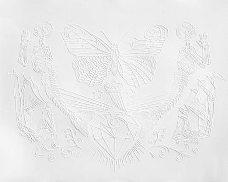 Tattoo on Paper by Jacob Dahlstrup