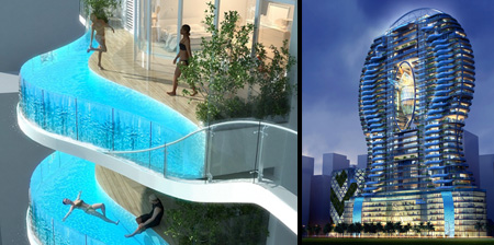 Balconies With Swimming Pools In Mumbai