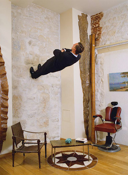 Gravity Defying Photography by Philippe Ramette