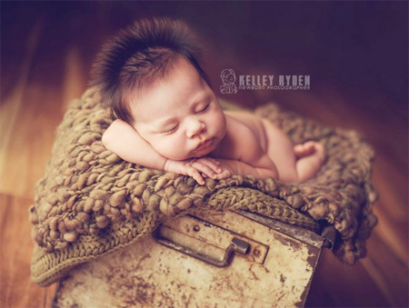 Sleeping Baby by Kelley Ryden