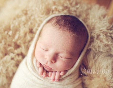 Sleeping Baby Photography by Kelley Ryden