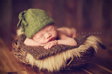 Sleeping Newborns by Kelley Ryden