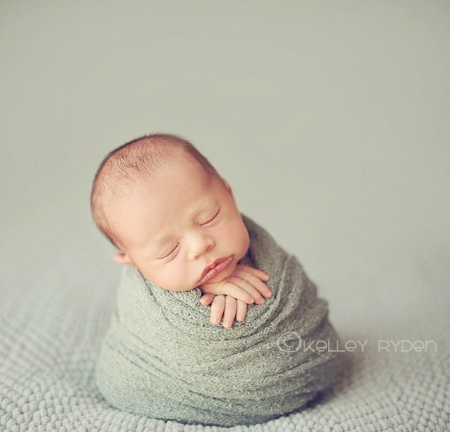 Sleeping Newborn by Tracy Raver
