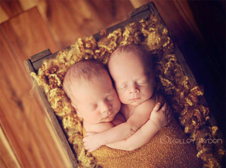 Sleeping Newborns by Tracy Raver