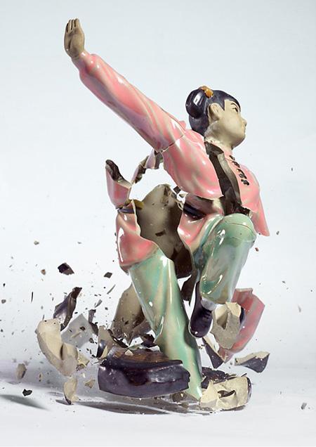 Dropped Porcelain Figurine