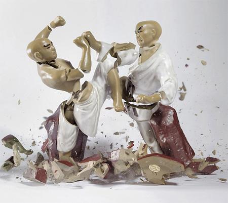 Shattering Figurine