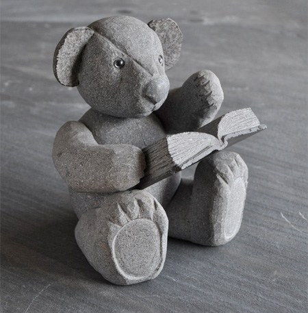 Stone Teddy Bear