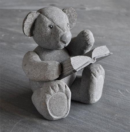 Stone Teddy Bear
