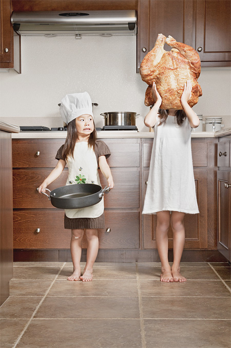 Creative Photos of Two Sisters