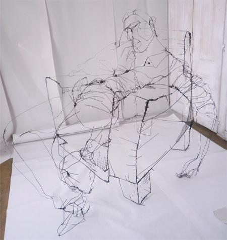 Wire Sketch by David Oliveira