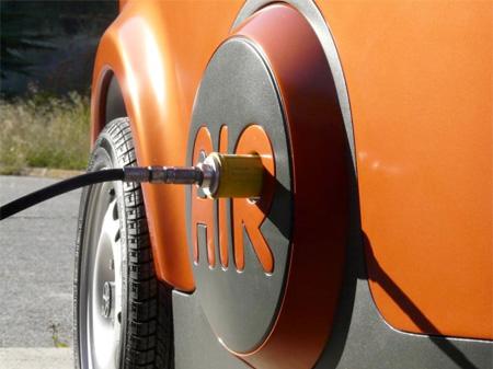 Air Powered Vehicle