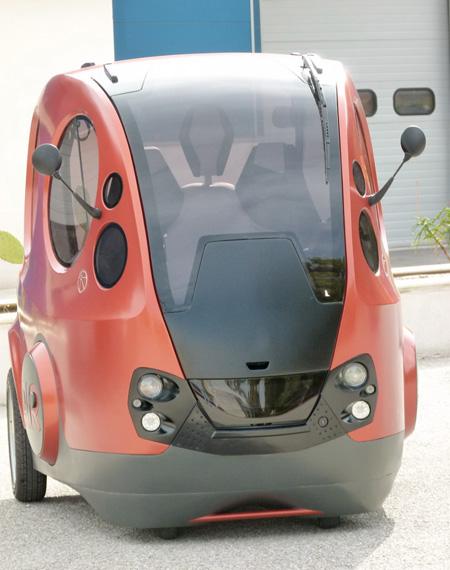 MDI Air Powered Vehicle