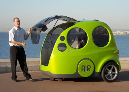air powered car. Black Bedroom Furniture Sets. Home Design Ideas