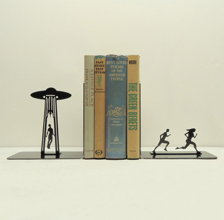 UFO Abduction Bookends