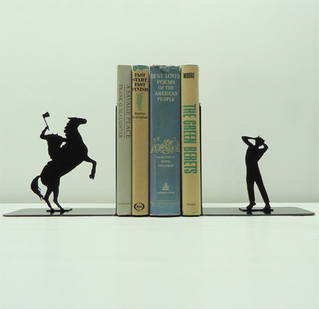 Headless Horseman Bookends