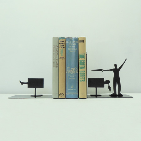 Magic Trick Bookends