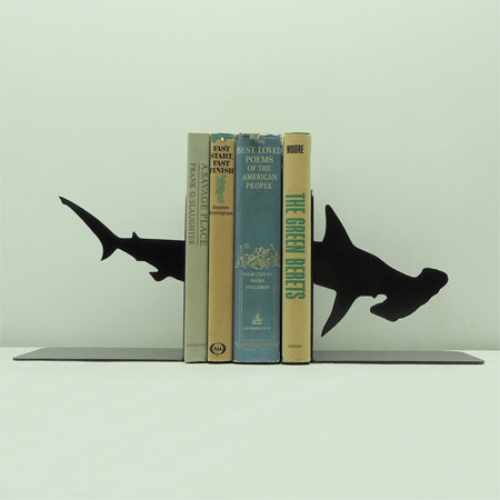 Hammerhead Shark Bookends